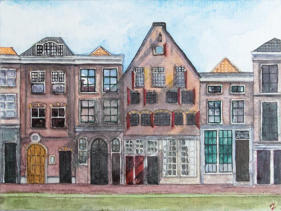 Delft (18 x 24 cm canvas)